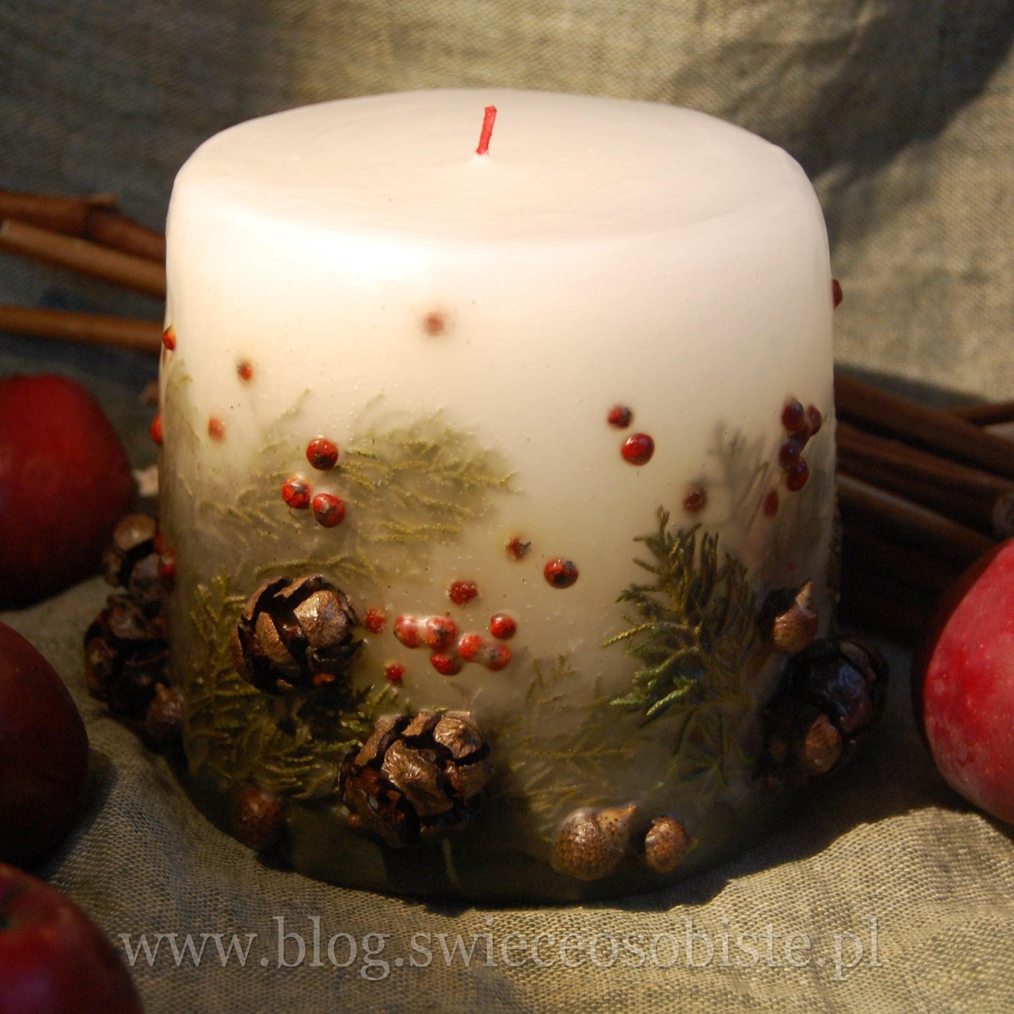 Свеча из мандарина и гвоздики своими руками
